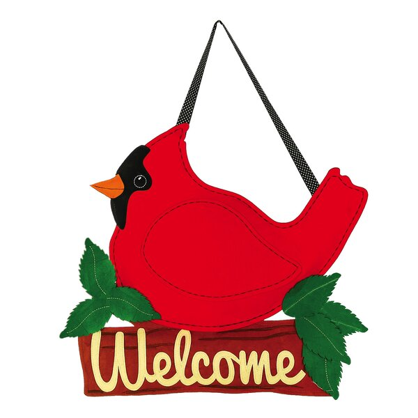 Evergreen Enterprises Inc Byers Cardinal Door Hanger u0026 Reviews | Wayfair  sc 1 st  Wayfair & Evergreen Enterprises Inc Byers Cardinal Door Hanger u0026 Reviews ... pezcame.com
