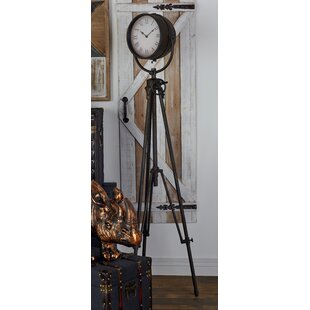 office large size floor clocks wayfair. Metal 57\ Office Large Size Floor Clocks Wayfair E