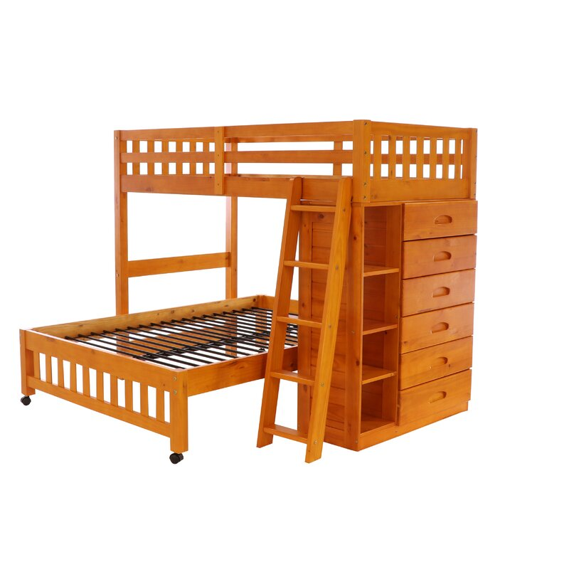 Kroger Twin over Full Bed with Drawers