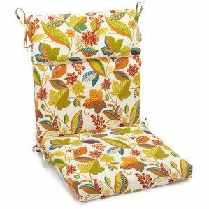 Outdoor High Back Adirondack Chair Cushion