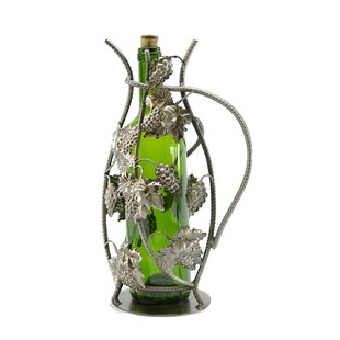 Grapes 1 Bottle Tabletop Wine Rack