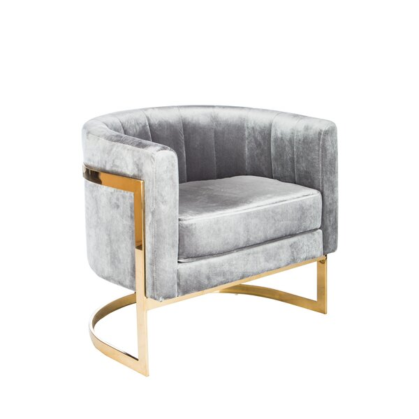 Statements By J Mica Gold Barrel Chair Amp Reviews Wayfair