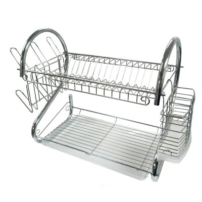 "22"" Chrome Dish Rack Better Chef"