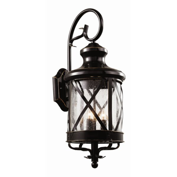 Laurel Foundry Modern Farmhouse Landon Outdoor Wall Lantern U0026 Reviews |  Wayfair