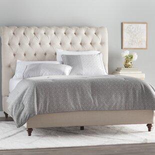 Hunstanton Upholstered Sleigh Bed