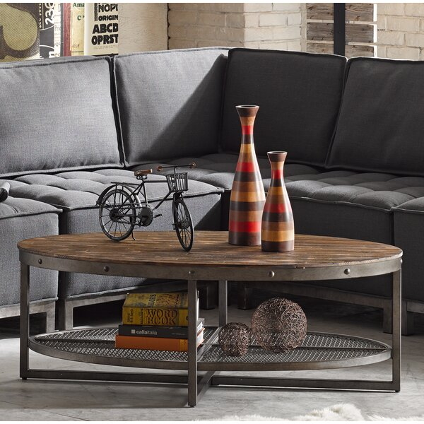 Trent Austin Design Celestine Coffee Table with Magazine Rack \u0026 Reviews   Wayfair & Trent Austin Design Celestine Coffee Table with Magazine Rack ...
