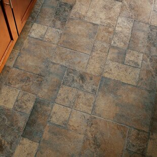 Brown Tile Look Laminate Flooring You Ll Love Wayfair