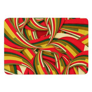 Excited Christmas by Danny Ivan Bath Mat