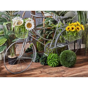 Traditional Bicycle Planter Box