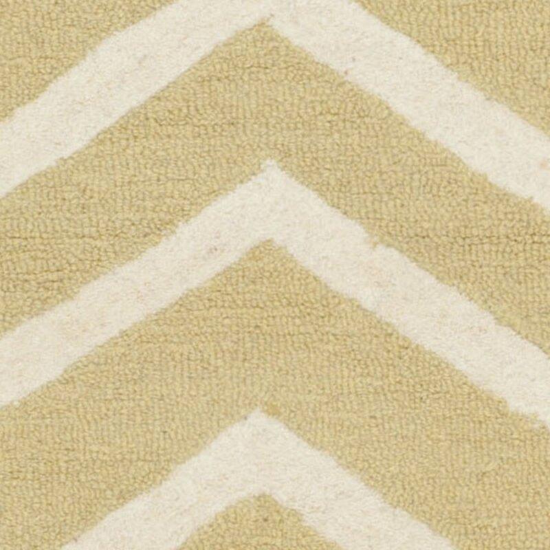 safavieh handgefertigter teppich newton aus wolle in hellgold elfenbein bewertungen. Black Bedroom Furniture Sets. Home Design Ideas