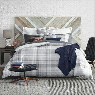 72d664069 Parker Plaid 100% Cotton Comforter Set. by Tommy Hilfiger