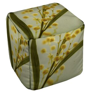 Vintage Botanicals 1 Ottoman by Manual Woodworkers & Weavers