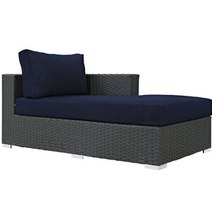 Sojourn Right Arm Chaise Sectional Piece with Cushions  sc 1 st  Wayfair.com : dinah chaise - Sectionals, Sofas & Couches