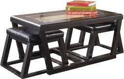Wonderful Latitude Run Preston Coffee Table With 2 Nested Stool U0026 Reviews | Wayfair