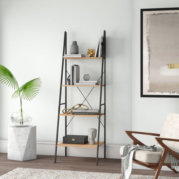 Pleasing Tall Skinny Bookshelf Wayfair Beutiful Home Inspiration Xortanetmahrainfo