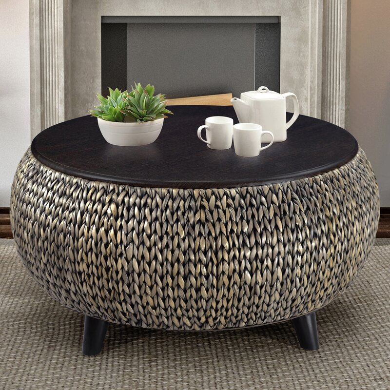 Attirant Dimitri Round Coffee Table