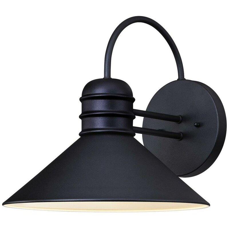 Goodyear 1 Light Outdoor Barn Light: Santana 1-Light Outdoor Barn Light & Reviews