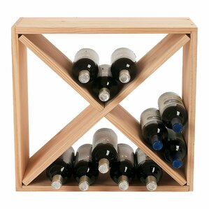 Stackable Cube 24 Bottle Tabletop Wine Rack by Wine Enthusiast