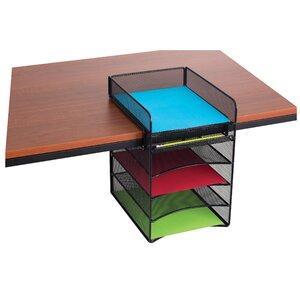 Mesh Horizontal Hanging Desk Storage