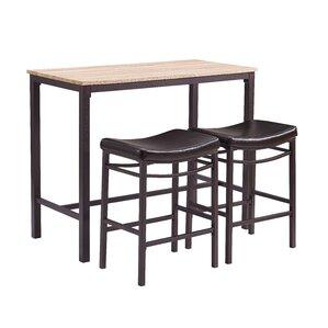 3 Piece Johnston Pub Table Set