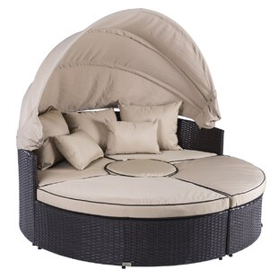 5 Piece Outdoor Daybed Set With Cushions