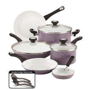 Purecook Ceramic Nonstick Cookware 12 Piece Cookware Set