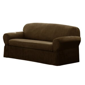 Box Cushion Sofa Slipcover by Maytex