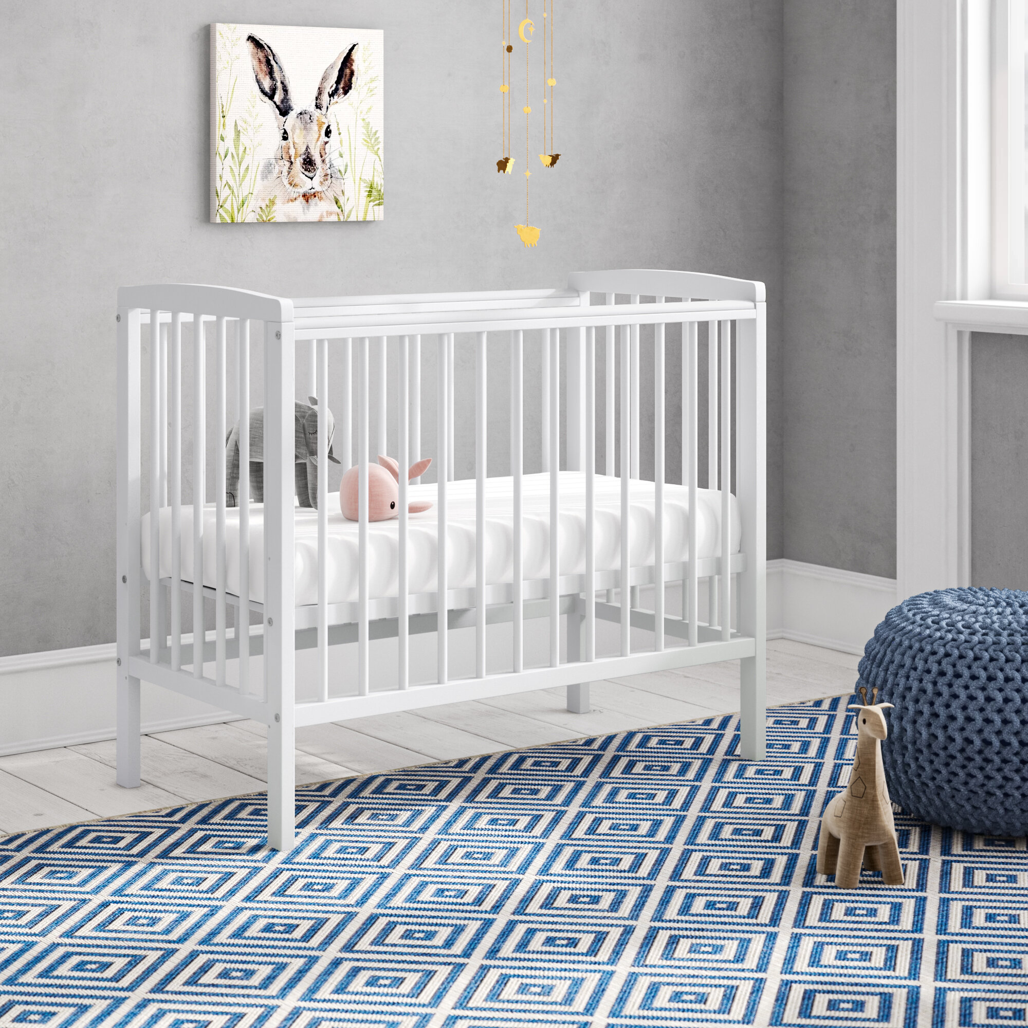 newest collection c899b 65f37 Sydney Compact Cot with Mattress