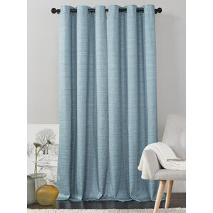 jaylah solid room darkening grommet curtain panels set of 2