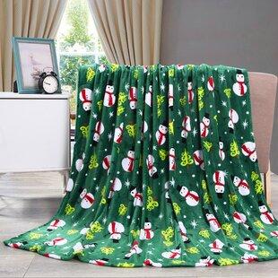 Adcock Christmas Fleece Throw 7eab67960