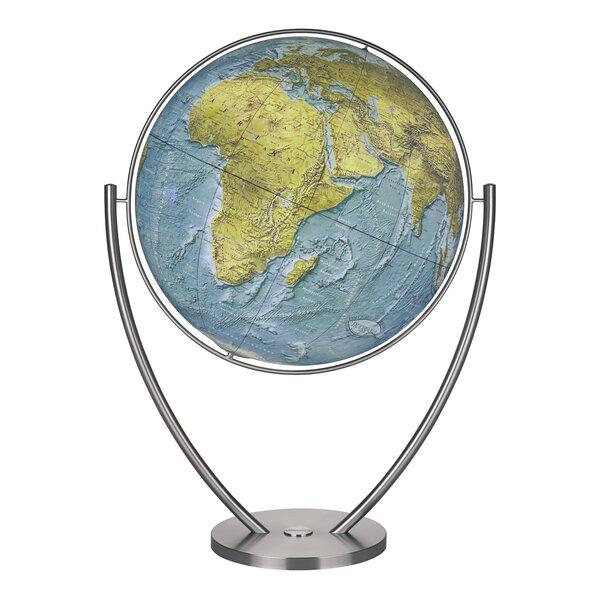 Columbus globe magnum plus duorama illuminated floor globe for Illuminated floor