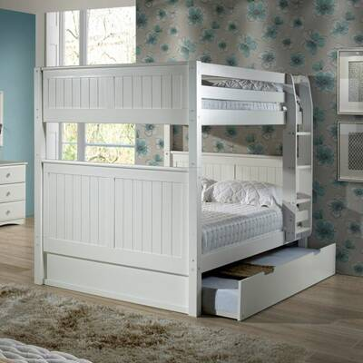 Viv Rae Shyann Full Over Full Bunk Bed With Trundle Reviews