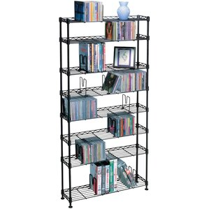 Multimedia Storage Rack by Rebrilliant