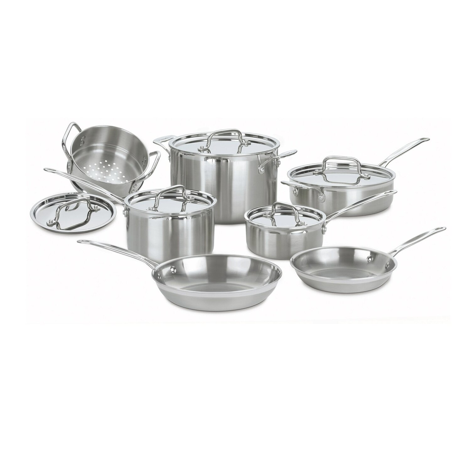 Multiclad Pro Stainless Steel 12 Piece Cookware Set