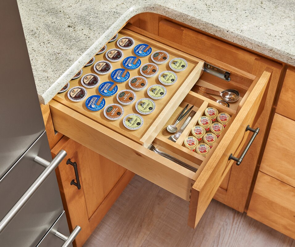 K Cup Drawer Coffee Pod Storage