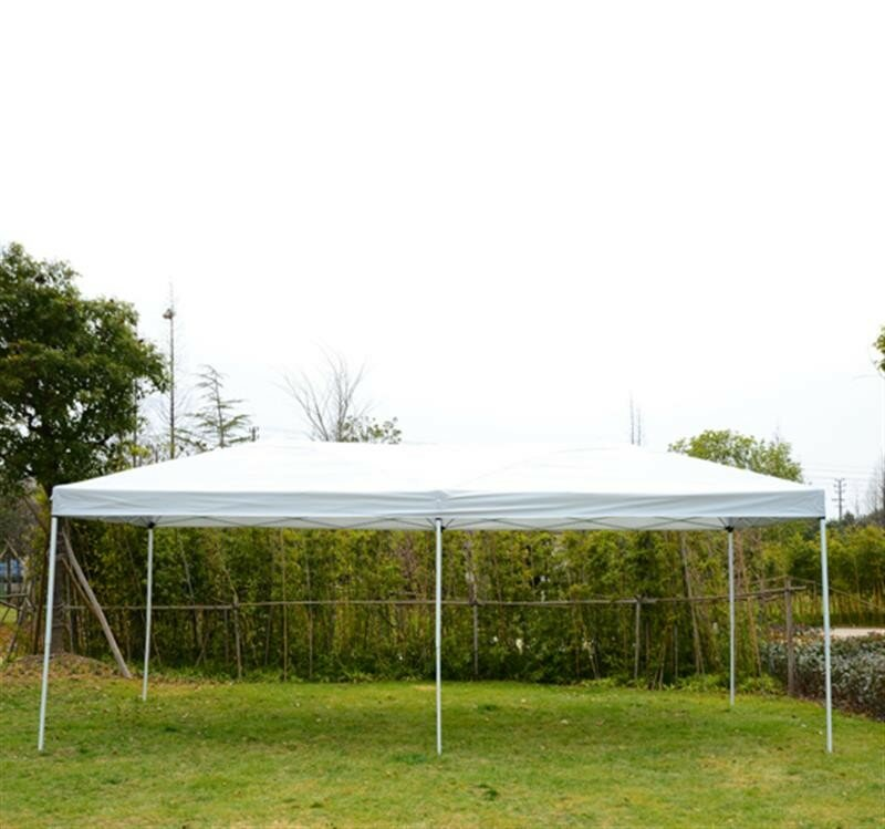 20 Ft. W x 10 Ft. D Steel Pop-Up Party Tent with  sc 1 st  Wayfair & Outsunny 20 Ft. W x 10 Ft. D Steel Pop-Up Party Tent with Mesh ...