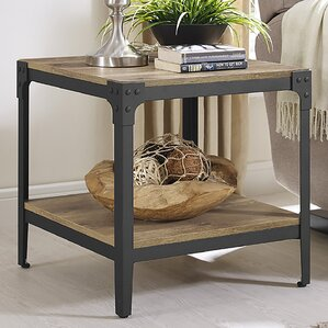 Arboleda Wood End Table (Set of 2) by Loon Peak