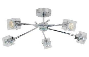 Stateside 5 Light Colorado LED Flush Ceiling Light in Chrome by TP24
