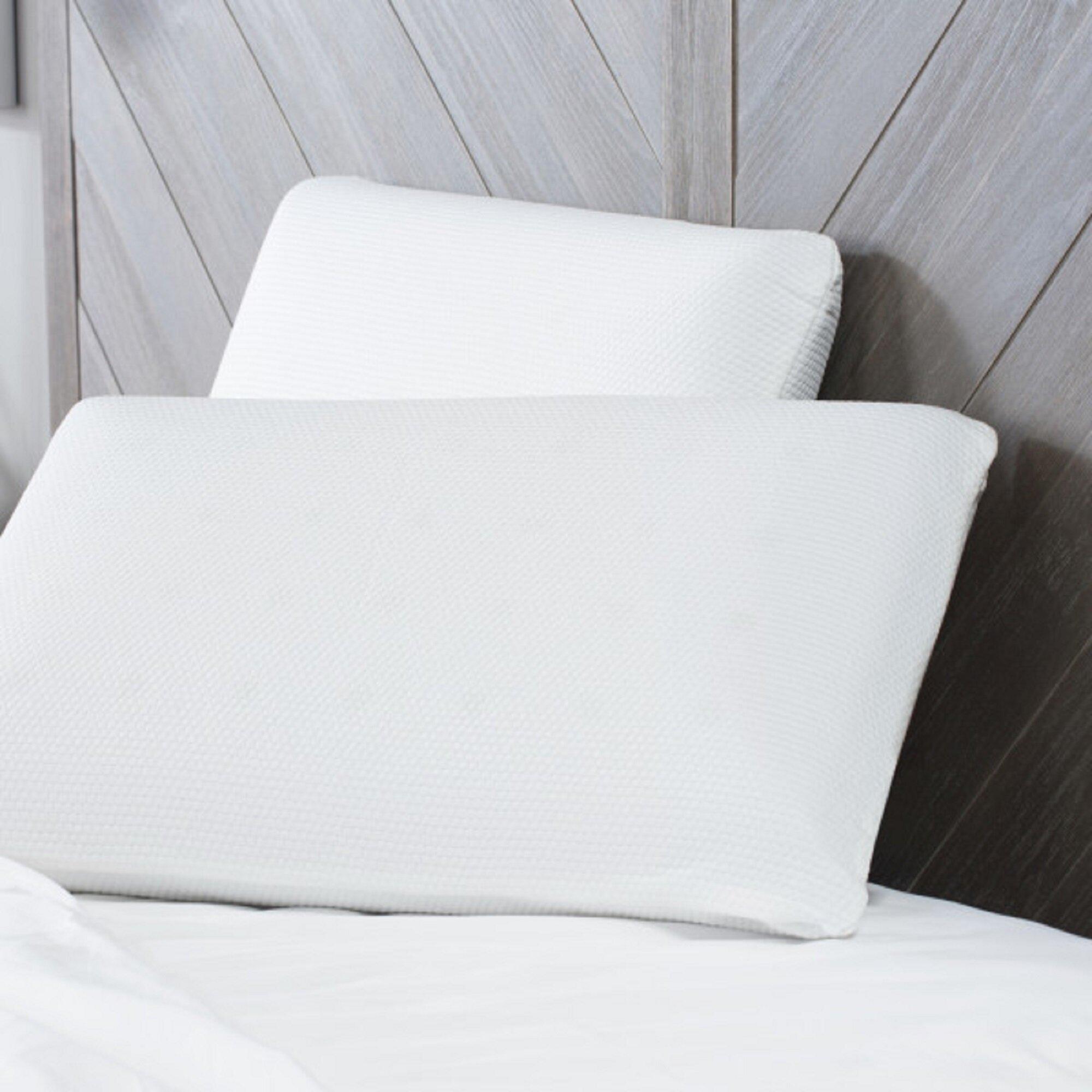 BioPEDIC Comfort Memory Foam Standard Pillow Reviews Wayfair