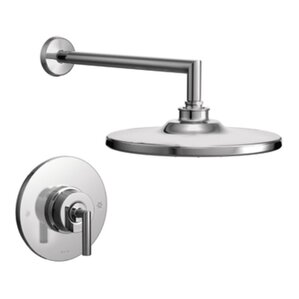 Moen Arris Pressure Balance Shower Faucet Trim with Lever Handle Darcy Bathroom Collection  Wayfair