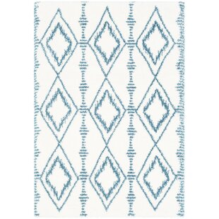 Shopping for Dysart Bohemian Teal/White Area Rug By Bungalow Rose