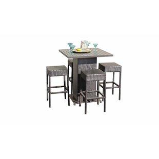 e69370ef812 Modern   Contemporary Bar Height Outdoor Dining Sets