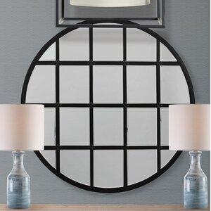 Wells Round Mirror