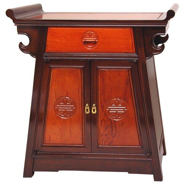 Wayfair Furniture Location: Oriental Furniture Altar 1 Drawer Accent Cabinet