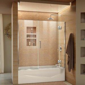 bathroom shower doors.  Shower Bathtub Doors You ll Love Wayfair