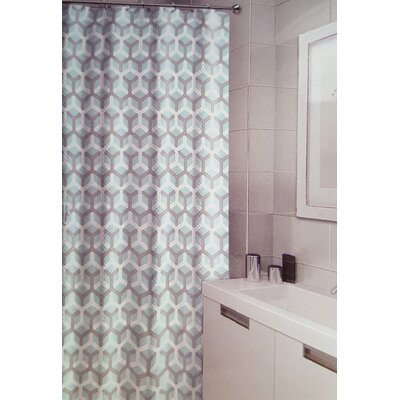 Royal Fabric Single Shower Curtain Ben And Jonah Color: Turquoise