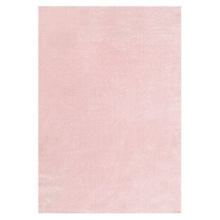 Pink Area Rug by Livone