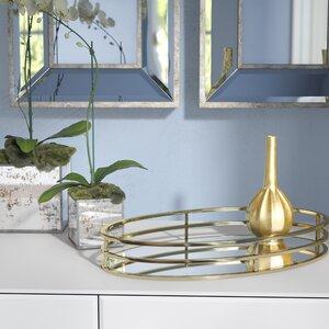 Cramden Oval Metal Vanity Tray