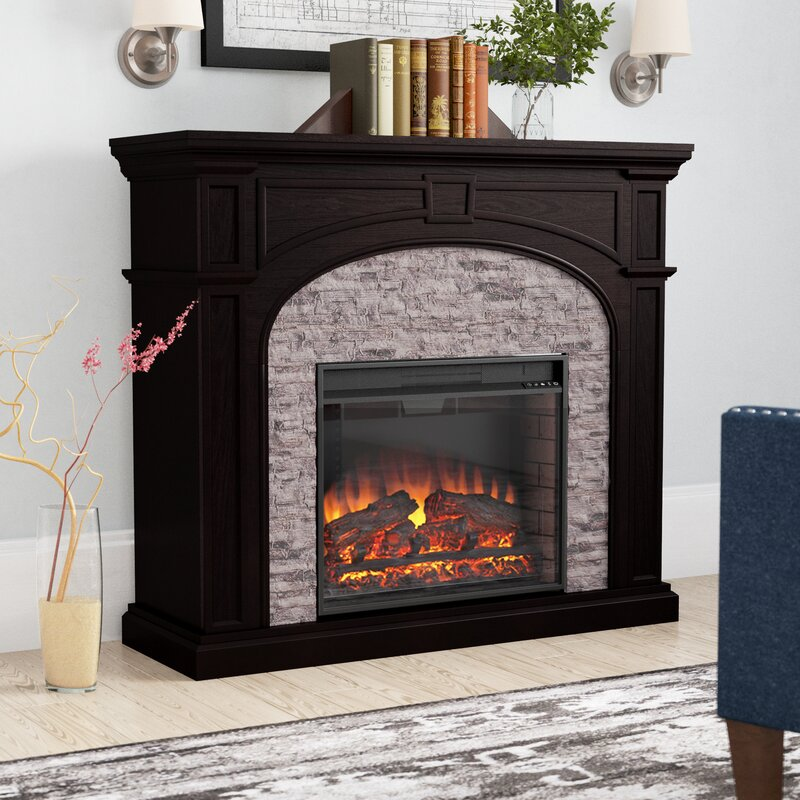 Alcott Hill Contreras Electric Fireplace Reviews Wayfair