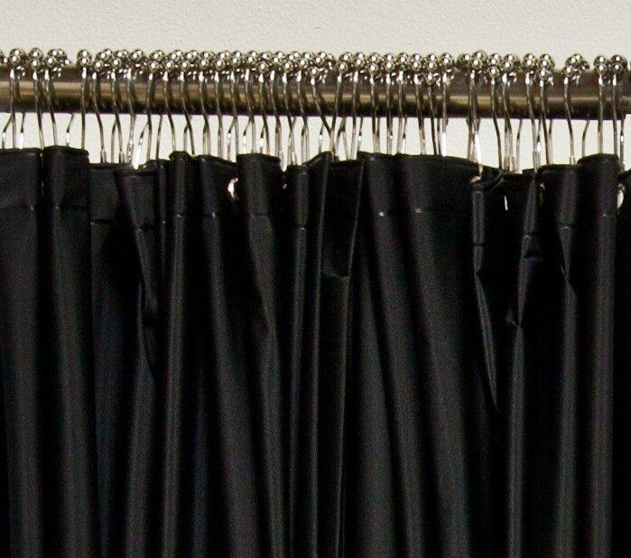 Vinyl Extended Shower Curtain
